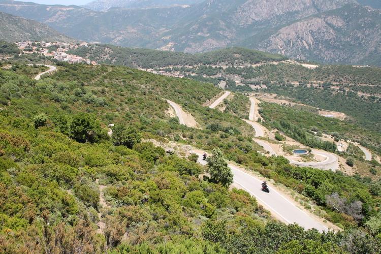 Motor Rondreis Sardinie