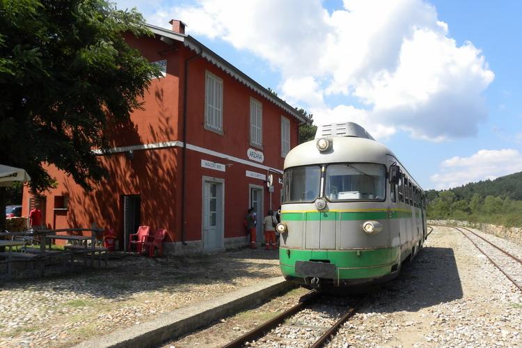 Trenino Verde Sardinie