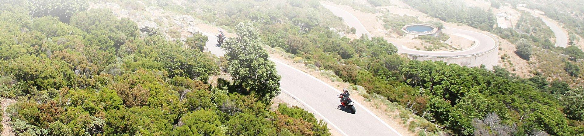 Motor Rondreizen Sardinie
