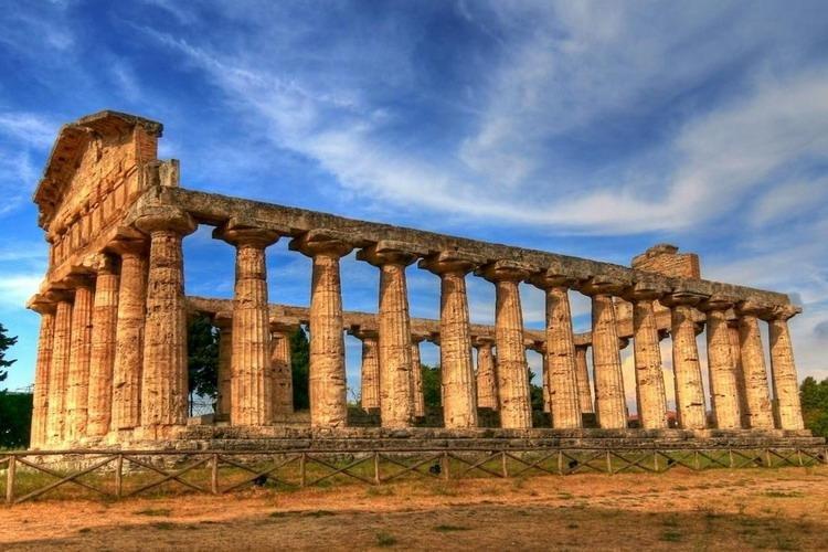 Paestum - Vallei der Tempels